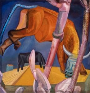 Ferruccio Ferrazzi, Toro Rosso, 1919, Museo Novecento, Florence