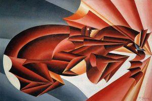 Fortunado Depero, Nitrito in velocità, 1932 Museo Novecento Florence