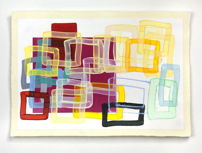Sharon Louden, Windows, 2015. Courtesy the artist and Morgan Lehman Gallery 2016