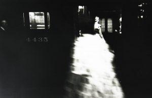 Saul Leiter, 'Subway car 4435', c.1946. Gelatin silver print. Printed later. Courtesy Saul Leiter Foundation and Howard Greenberg Gallery, New York. AIPAD