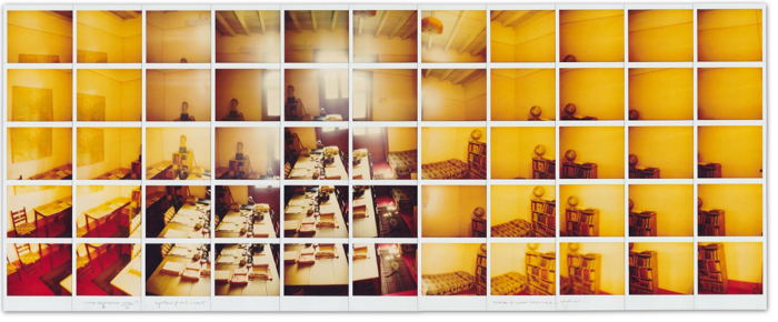 Maurizio Galimberti, 'Casa di Leon Trotsky... studio, Città del Messico, ottobre 2002', polaroid, Paci Contemporary AIPAD. Courtesy the artist and Paci Contemporary.