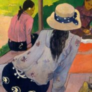 Paul Gauguin, 'The Siesta', 1892. Oil on canvas. Metropolitan Museum