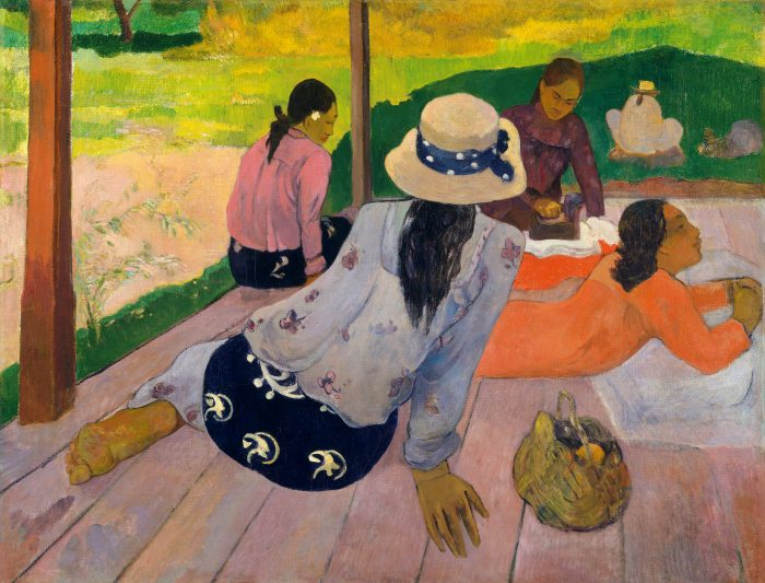 Paul Gauguin, 'The Siesta', 1892. Oil on canvas. In the collection of the Metropolitan Museum of Art.jpg