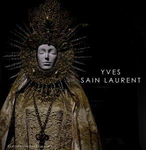 Yves Saint Laurent A statuary vestment for the Virgin of El Rocío, designed by Yves Saint Laurent ca. 1985.