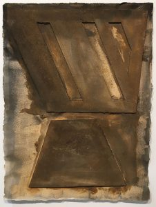 "Carlo Dell'Amico, ""Stanza"", 1986. Mixed media on paper. Montrasio Arte Milano. The Armory Show"